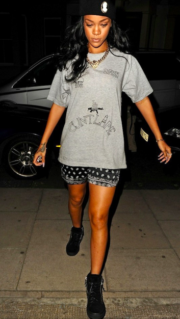 Fashion Defined Rihanna Out And About In London 2012 Save Fashion Defined
